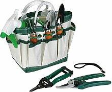Gartengarnitur mit 6 Gartenzubehörtasche Handtasche Nylon
