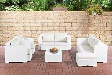 Gartengarnitur Provence-weiß-Cremeweiß