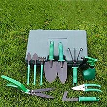 Gartengeräte 5/10 Stück Werkzeug Set von Gartengeräte set Garten Gartenpflege set für Gartenarbeit und Balkonpflanzen (10 Stück)