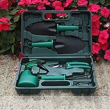 Gartengeräte 5/10 Stück Werkzeug Set von Gartengeräte set Garten Gartenpflege set für Gartenarbeit und Balkonpflanzen (5 Stück)
