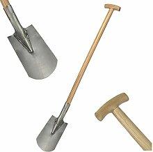 Gartengeräte massiv 1 von 3, Spaten Forke oder