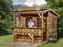 Gartenhaus 820 A - Ausführung: Gr. 2, Schindel- bedarf: 6 Pkt., Außenmaß: 250 x 300