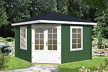 Gartenhaus ARUBA 40 Blockhaus Holzhaus 350 x 350