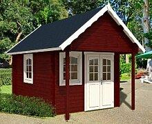 Gartenhaus BUNKIE 40 + Schlafboden Blockhaus