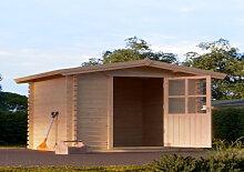 Gartenhaus Cube mit Holzboden 2x2m