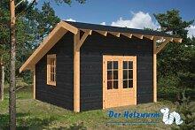 Gartenhaus Daarle ca. 400x400 cm Selbstbaupake