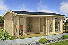 Gartenhaus G155 inkl. Fußboden und Terrasse - 44