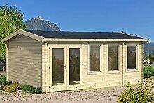Gartenhaus G156 inkl. Fußboden - 40 mm