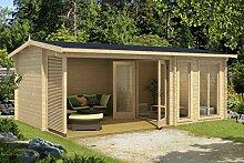Gartenhaus G168 inkl. Fußboden und Terrasse - 44