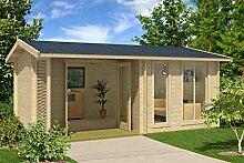 Gartenhaus G169 inkl. Fußboden und Terrasse - 44