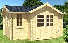 Gartenhaus HOBY JUCAR Blockhaus 476x297+83cm -