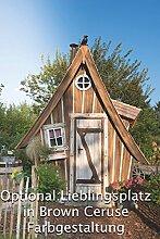 Gartenhaus Lieblingsplatz Vollausstattung ( Angebot nur gültig für Österreich ) (Brown Ceruse)