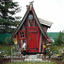 Gartenhaus Lieblingsplatz Vollausstattung ( Angebot nur gültig für Österreich ) (Red Ceruse)