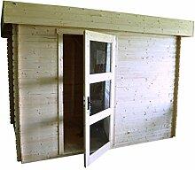Gartenhaus Lunz - 3,20 x 2,0 Meter aus 19 mm