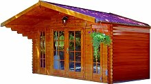Gartenhaus MAGDEBURG Blockhütte Blockhaus