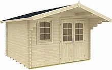 Gartenhaus MARI A 40 Blockhaus Holzhaus 380 x 320