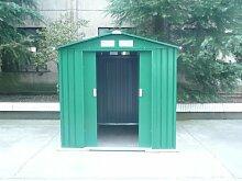 Gartenhaus Metall mittlere mit Doppeltür 181x 201x 190cm
