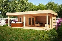 Gartenhaus mit Großer Terrasse Garden Paradise A