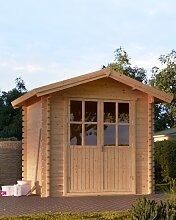 Gartenhaus Nano mit Holzboden 2,5x2m