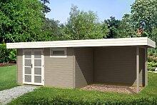 Gartenhaus ORIENTAL III 28 - SD300 mit Schleppdach
