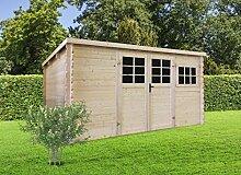 Gartenhaus Pirum P89493 - 34 mm Blockbohlenhaus,