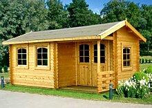 Gartenhaus SUSAN Blockhaus 530cm x 320cm - 45mm