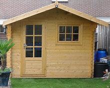 Gartenhaus Sutton mit Holzboden 3x2m