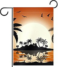 Gartenhof Flagge doppelseitig /12x18in/ Polyester
