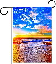 Gartenhof Flagge doppelseitig /28x40in/ Polyester