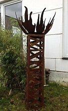 Garteninspiration Feuerschale Durchmesser 60 cm