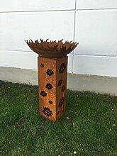 Garteninspiration Feuerschale mit Konus