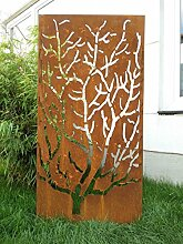 Garteninspiration Sichtschutz Sichtschutzwand