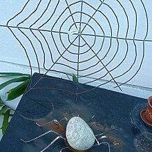 Garteninspiration Spinne mit Spinnennetz