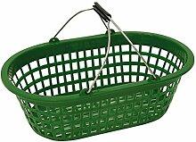 Gartenkorb Einkaufskorb Wäschekorb grün bis 15kg