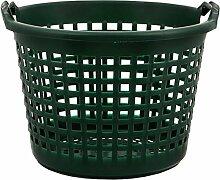 Gartenkorb Kunststoff grün 25kg