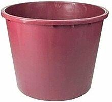 Gartenkorb rund L.21080H.55weinrot ICS [ICS]