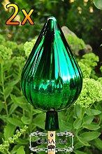 Gartenkugel 24 cm grün Rosenkugel gartenkugeln,
