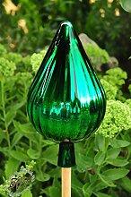 Gartenkugel 33 cm grün Rosenkugel gartenkugeln,