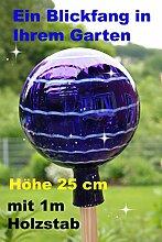 Gartenkugel (R4+Stab) Rosenkugel Gartenkugeln Glas