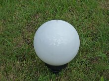 Gartenlampe Kugelleuchte 20cm Marlon Außenleuchte, Kugelleuchte, Gartenlampe mit Erdspieß Gartenkugel Kugellampe