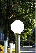 Gartenlampe Straßenlaterne 110 cm Edelstahl