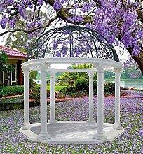 Gartenlaube CHIOSCO LA DOLCE VITA H 410 Farbe grau
