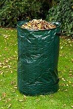 Gartenlaubsack Laubsack Gartensack Abfallsack 120 Liter grün (127)