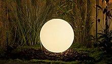 Gartenleuchte 50 cm Kugelleuchte Leuchtkugel