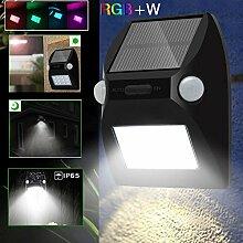 Gartenleuchte/Wandleuchte, 12 LEDs,