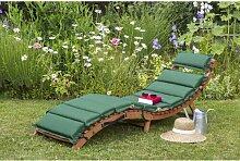 Gartenliege Vallejos mit Auflage Garten Living