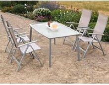 Gartenmöbel Set Alu 4 Garten Klappsessel 1