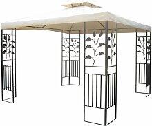 Gartenpavillon 3x3m Pavillon Toscana Pavillion