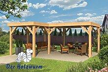 Gartenpavillon Beerze ca. 620x520 cm Selbstbaupake