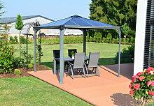 Gartenpavillon Palermo Gazebo 3000 grau - Palram